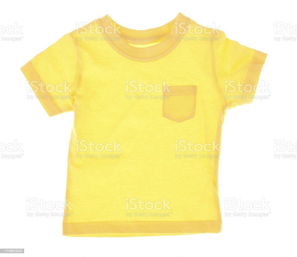 Yellow Tshirt royalty-free stock photo