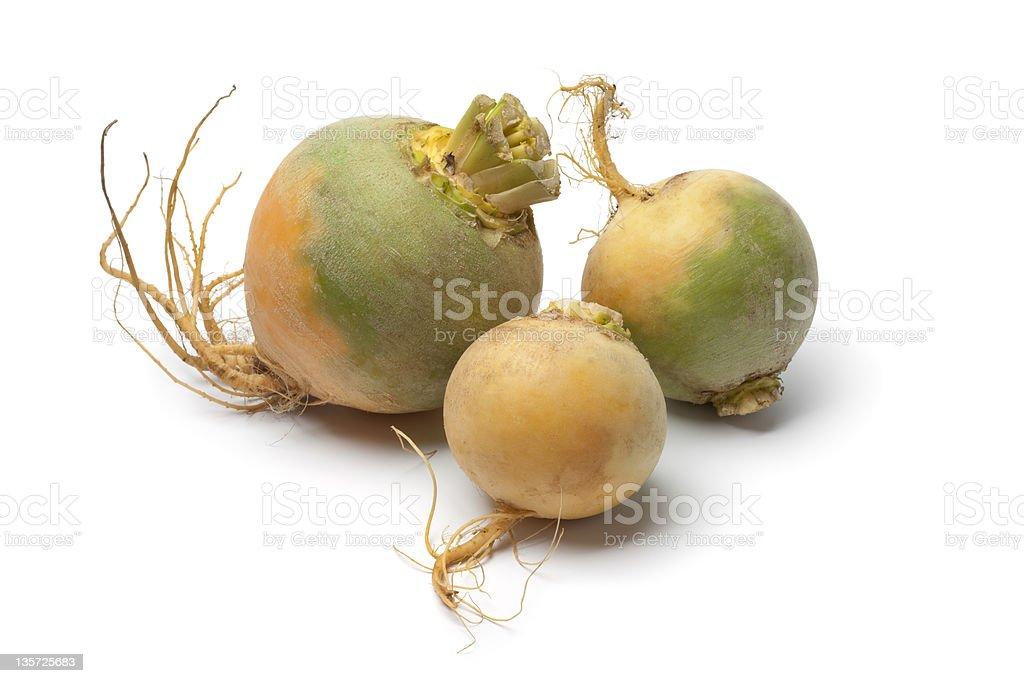 Yellow turnips stock photo
