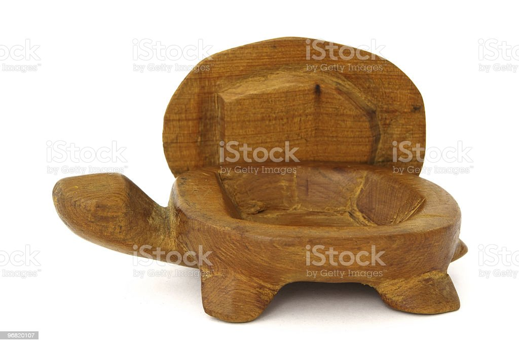 Yellow turtle royalty-free stock photo