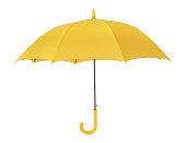 istock Yellow umbrella 1131428596