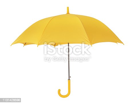 This is a yellow umbrella.
