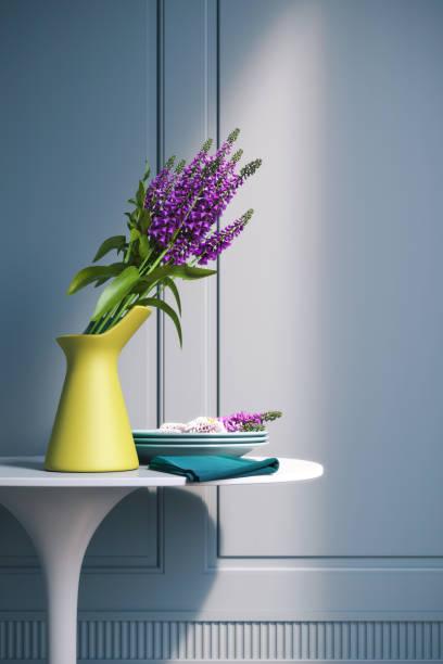 Yellow Vase stock photo