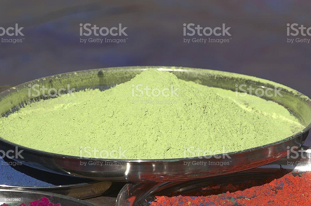 Yellow Vegetable Dye royalty-free stock photo