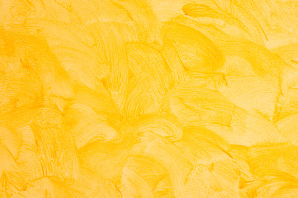 Yellow Wall Background Yellow wall background saturated color stock pictures, royalty-free photos & images