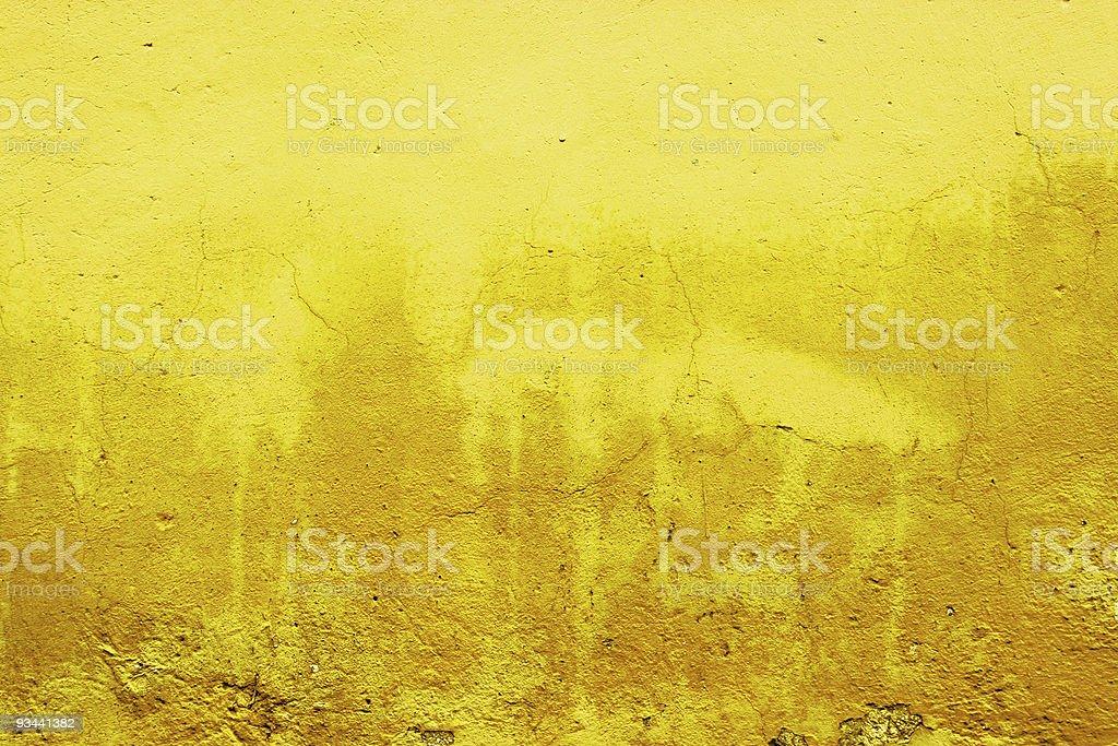 Gelbe Wand Lizenzfreies stock-foto