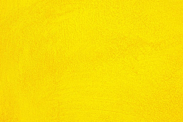 Yellow wall texture background stock photo