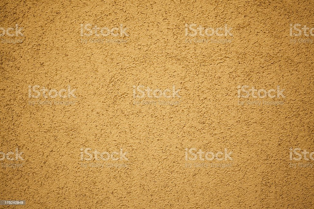 Yellow Wall Texture royalty-free stock photo