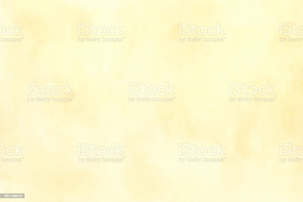 Yellow Water Color Background stock photo