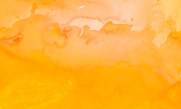 Gelber Aquarellhintergrund – Foto