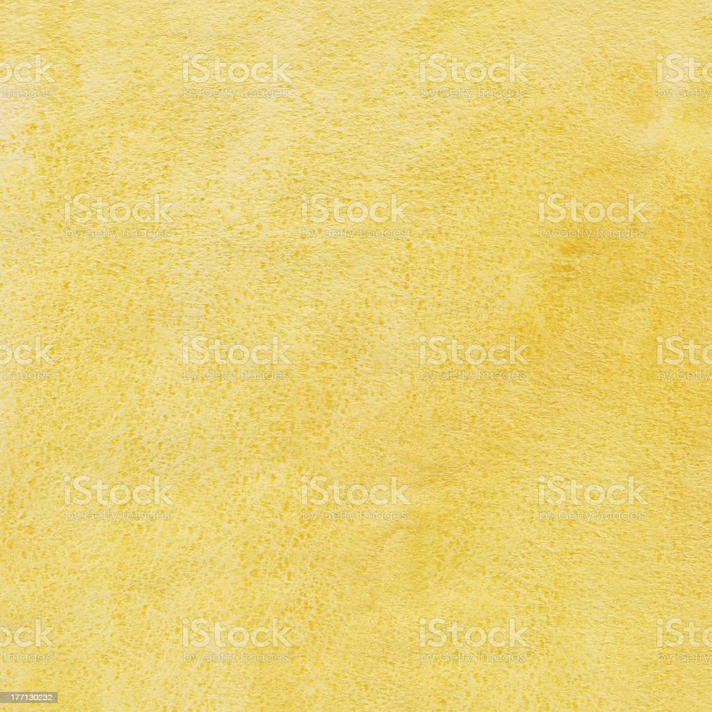 Yellow watercolor background royalty-free stock photo
