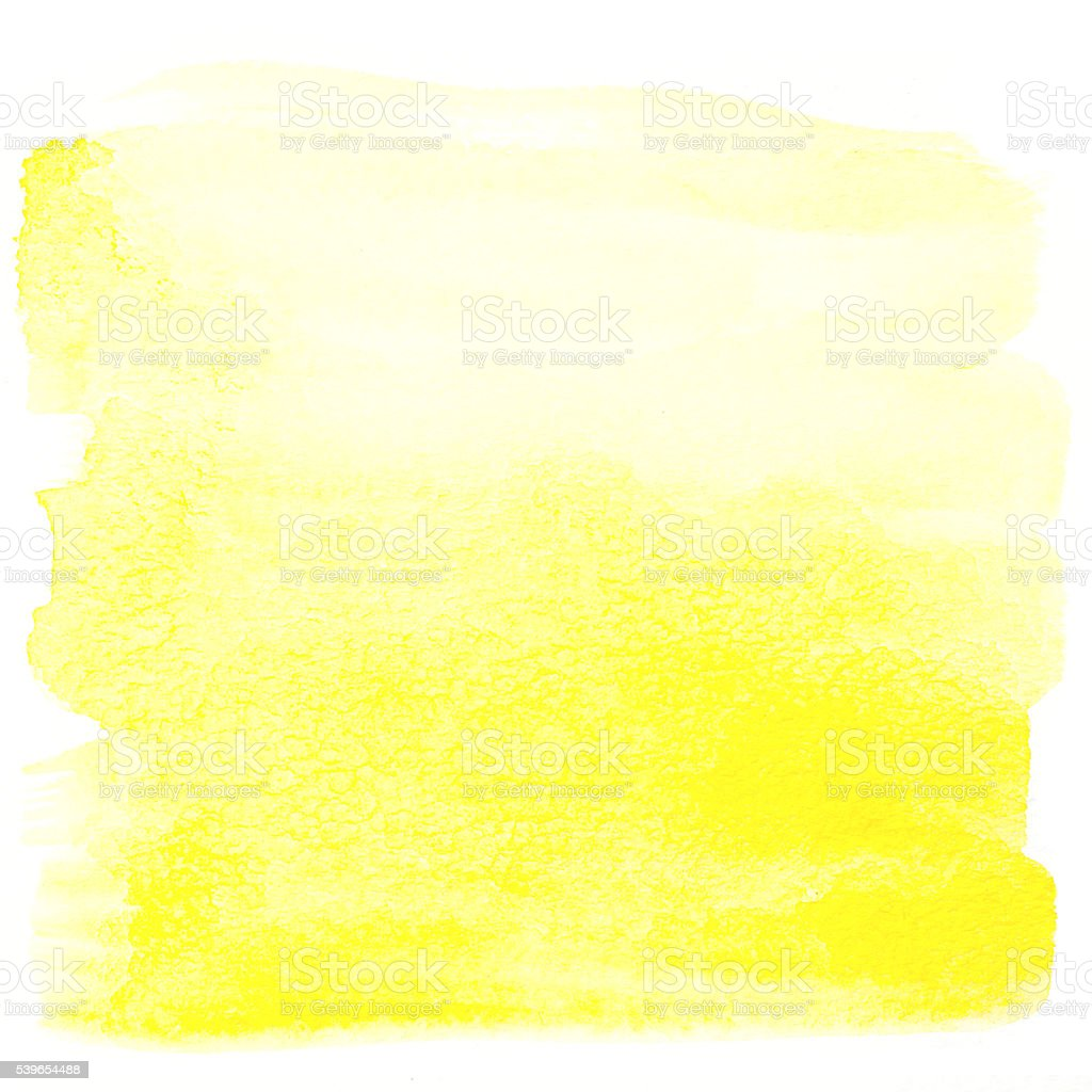 Yellow watercolor background stock photo istock for White paint going yellow