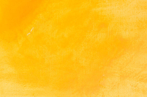 yellow watercolor painting background - sarı stok fotoğraflar ve resimler