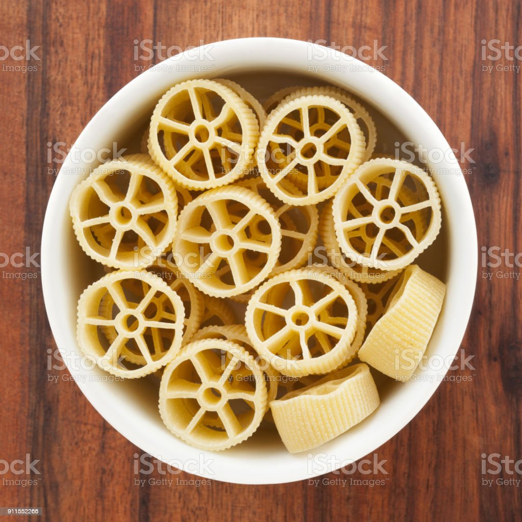 Yellow Rotelle Pasta Stock Photo Download Image Now Istock