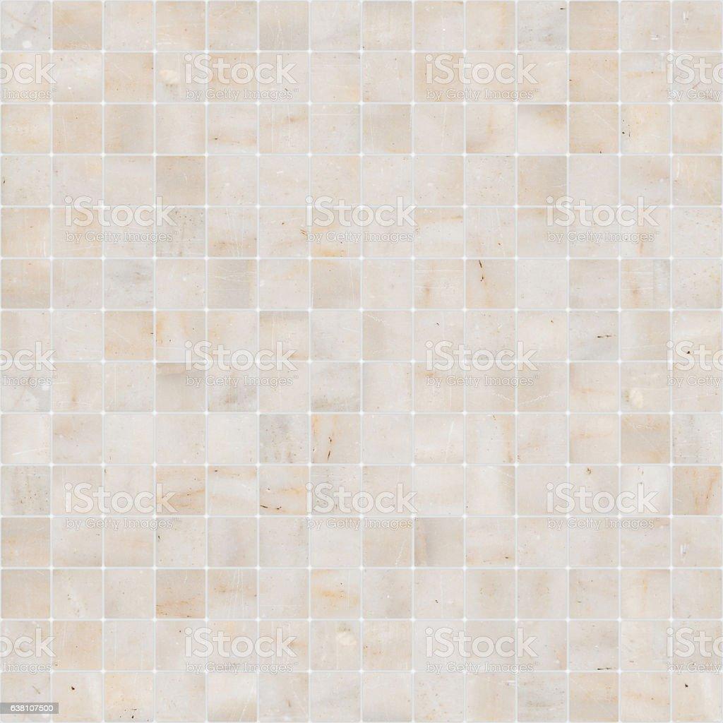 Yellow White Mosaic Marble Tile Texture Seamless Foto De Stock Y Mas Banco De Imagenes De Aire Libre Istock