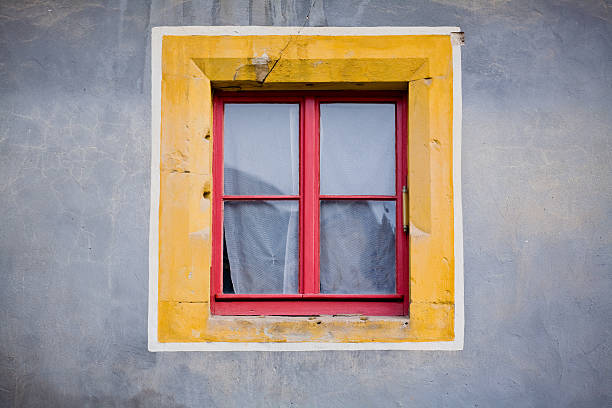 Royalty free four objects square shape window square for Window object