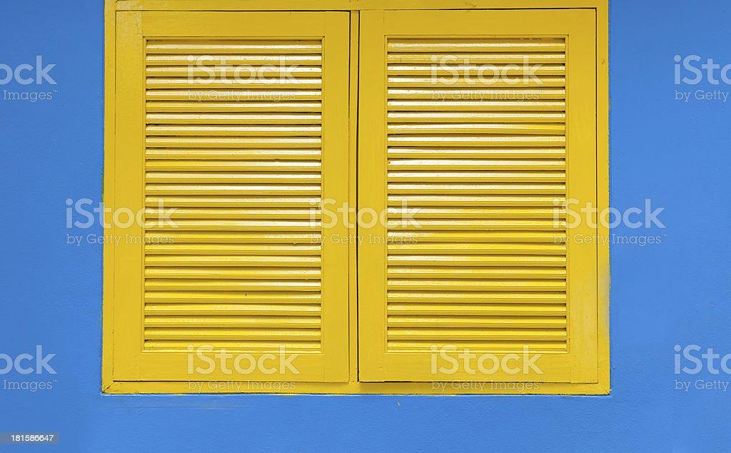 Gelbe Fenster – Foto
