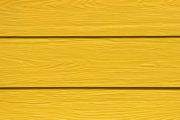 Yellow wood background stock photo