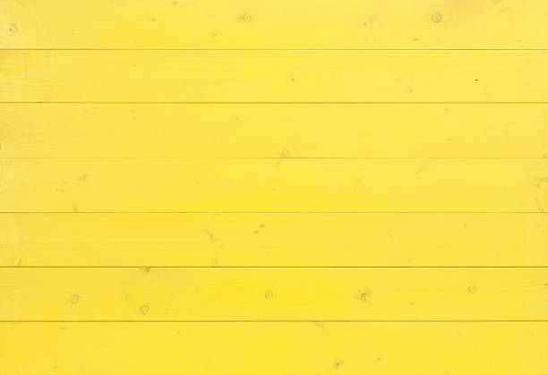 yellow wooden background - yellow stock photos and pictures