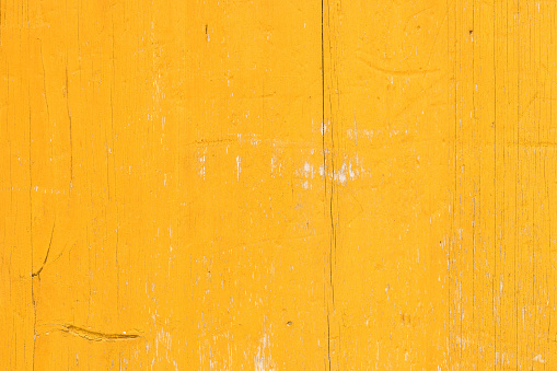 Old yellow board.