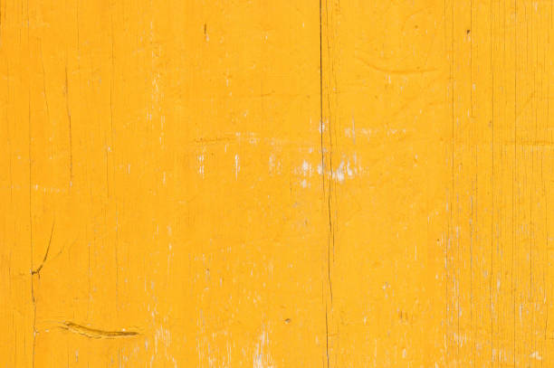 yellow wooden background texture - paint texture stock pictures, royalty-free photos & images