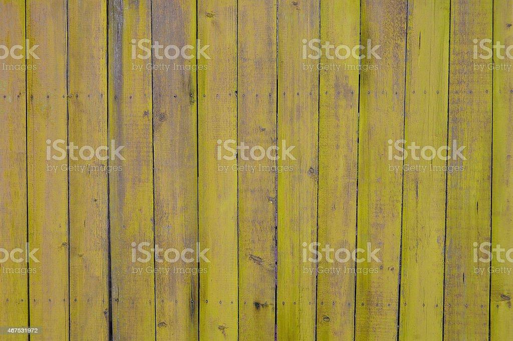 Pranchas de madeira amarelos - foto de acervo