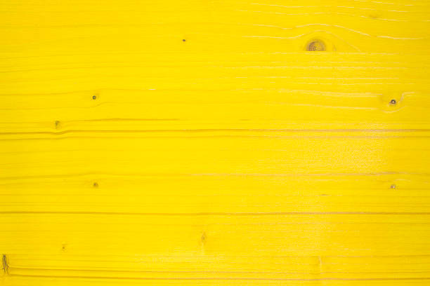Royalty free bright yellow wooden wall with peeling paint for Neon yellow wall paint