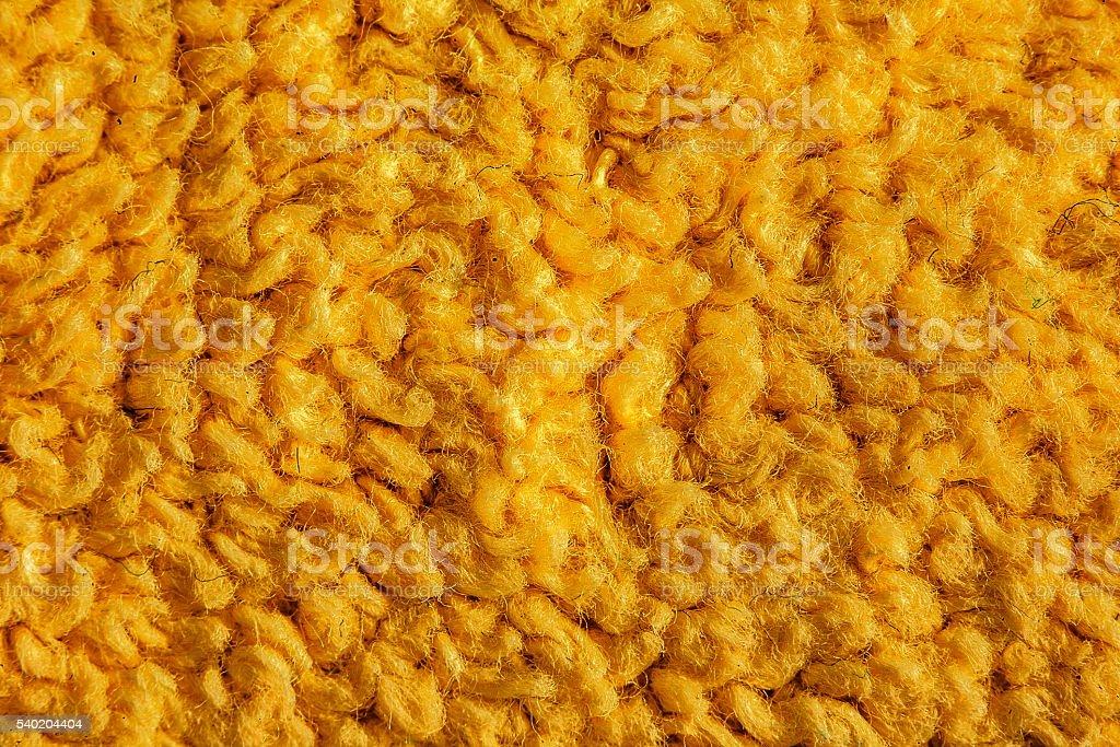 yellow wool texture stock photo