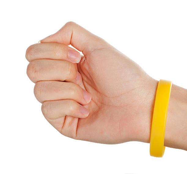 Gelbe Armband – Foto