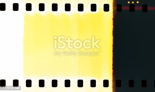 1152194399 istock photo YellowAbstract film texture 1129181965