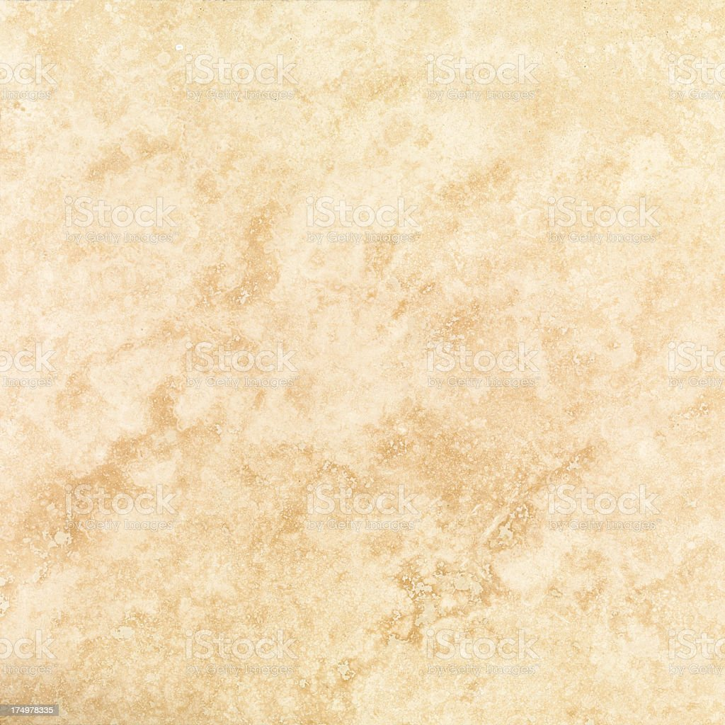 Yellowed marble texture background royalty-free stock photo