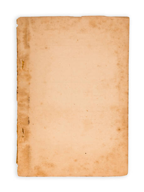 Yellowed Old Document