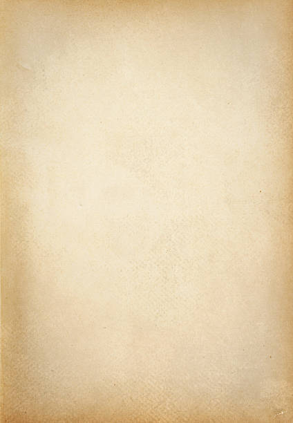 yellowed paper texture stock photo