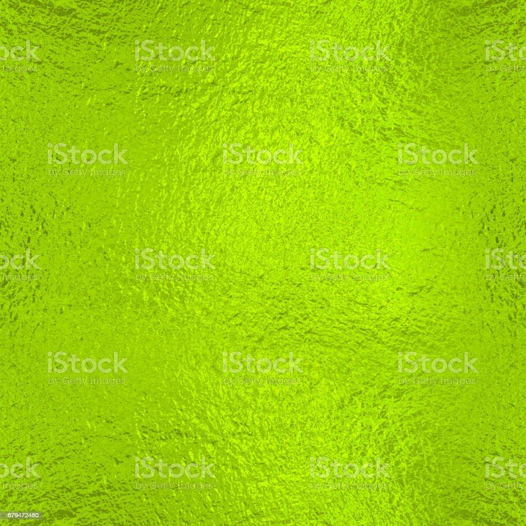 黃色綠色箔紋理背景 免版稅 stock photo