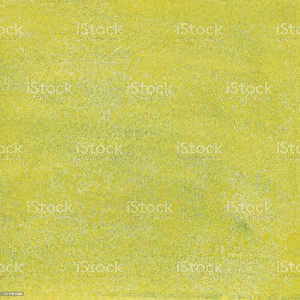 Yellow-green watercolor background royalty-free stock photo
