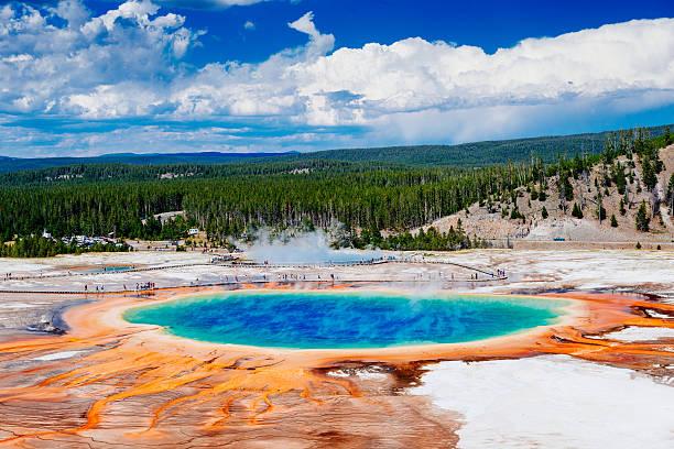 Yellowstone Grand Prismatic Spring – Foto