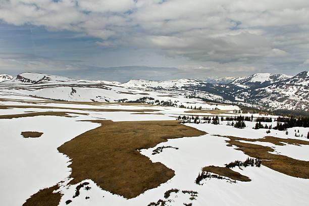 Yellowstone Mountains III stock photo