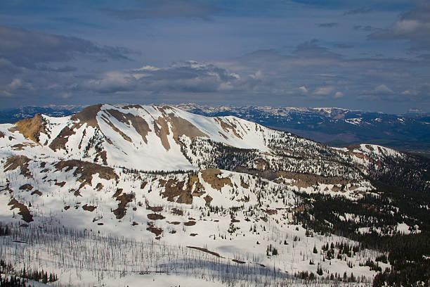 Yellowstone Mountains IV stock photo