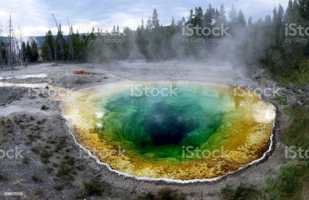 Yellowstone National Park. stock photo