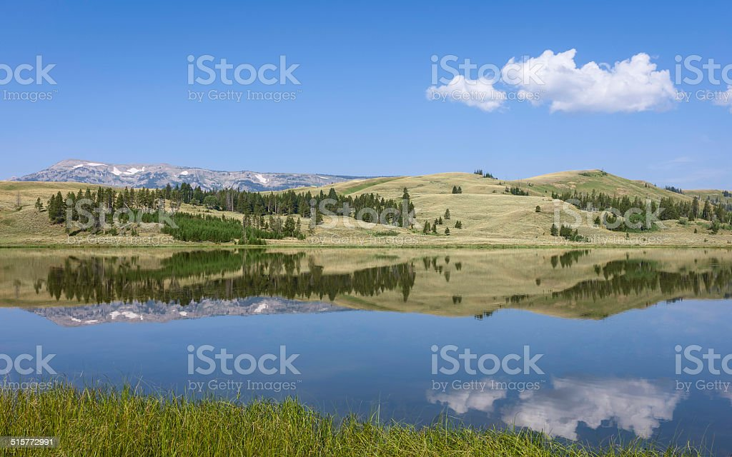 Yellowstone National Park, West Yellowstone, Wyoming, USA. stock photo