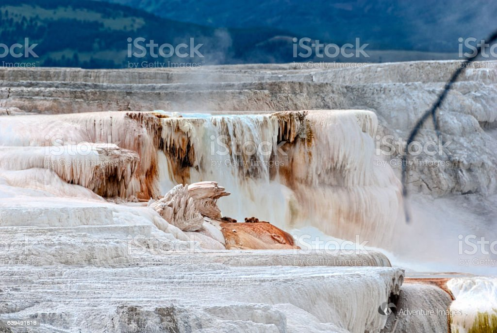 Yellowstone Scene stock photo