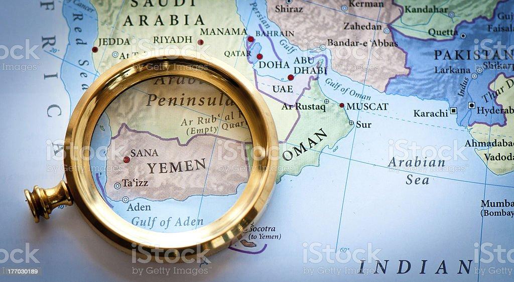Yemen stock photo