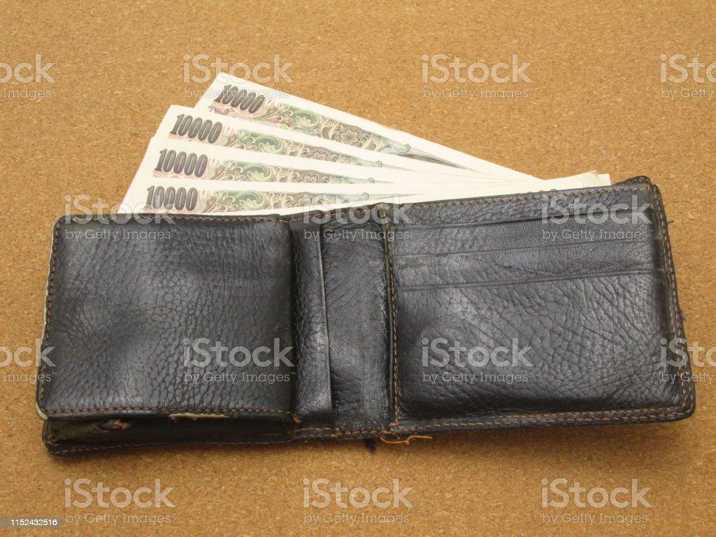 10,000 yen seen from the wallet