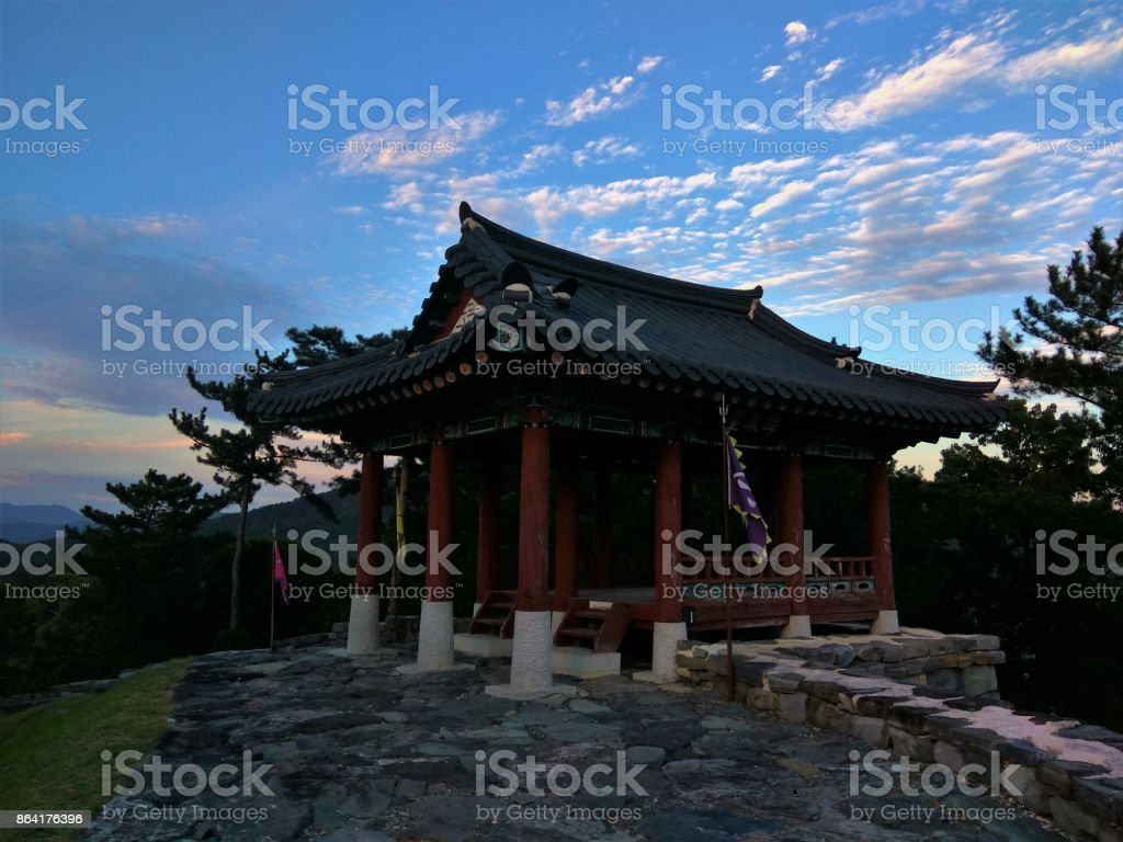 Yeongnamnu Pavilion traditional Korean architecture royalty-free stock photo