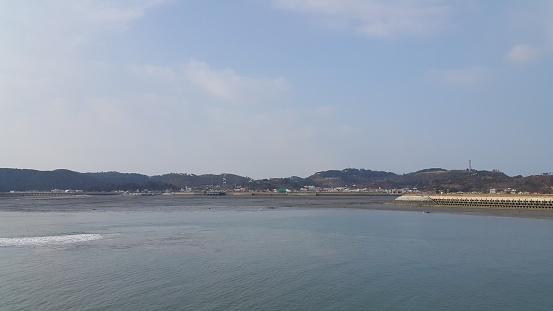 Yeonpyeong Island scenery in Korea