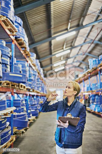 Shot of a young woman working in a warehousehttp://195.154.178.81/DATA/i_collage/pi/shoots/784458.jpg