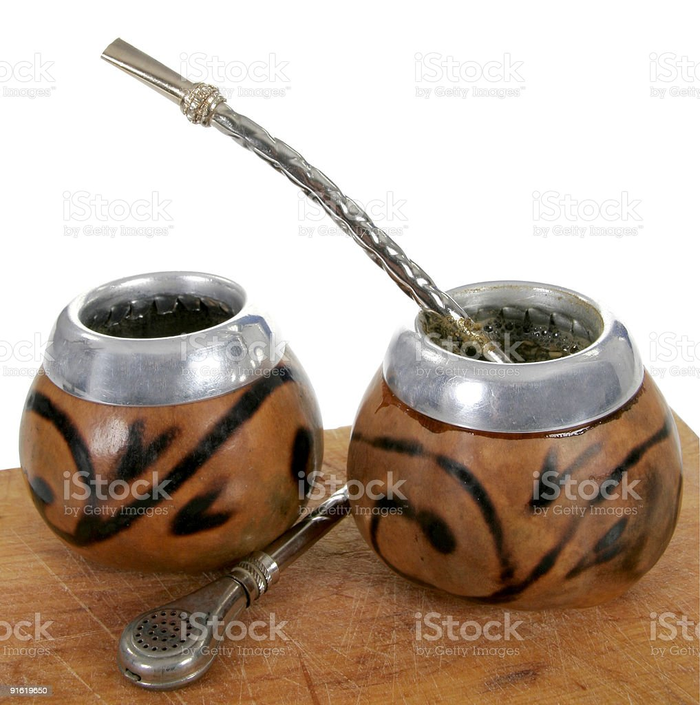 yerba mate royalty-free stock photo