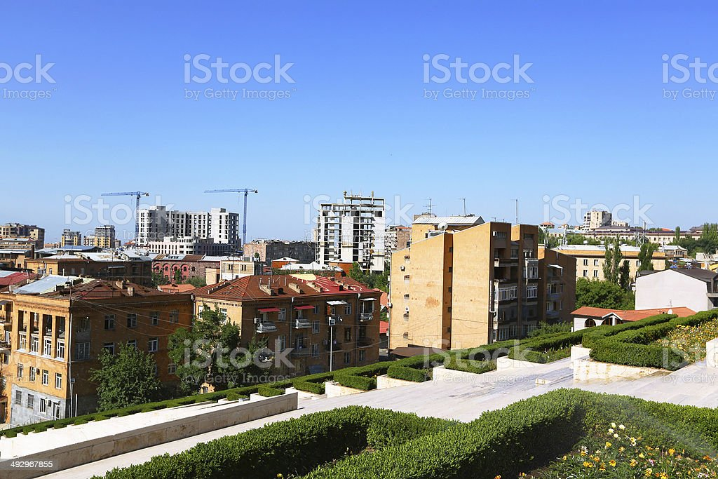 Yerevan city royalty-free stock photo