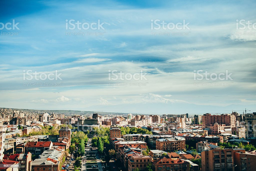 Yerevan stock photo