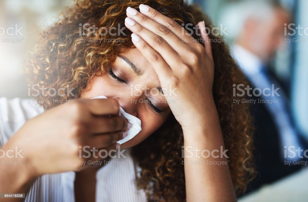 Yes I definitely have a fever stock photo