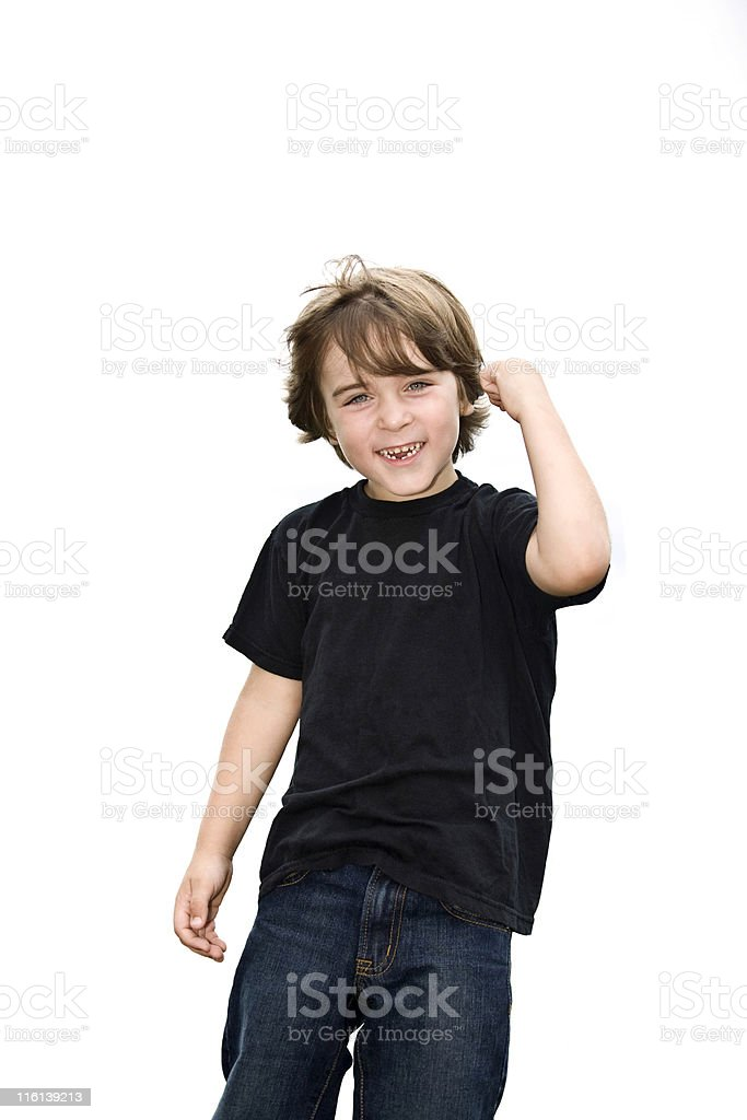Yes!!!  I Did It royalty-free stock photo